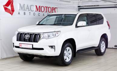 Toyota Land Cruiser Prado Белый